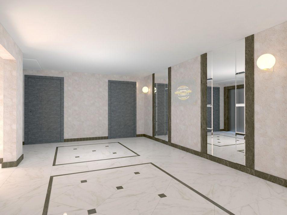 Холлы в ЖК EcoSolaris